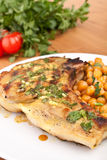 Mexican Citrus Pork Chop Royalty Free Stock Photography