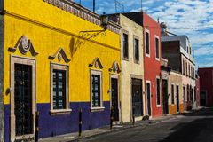 Mexican city Stock Photography