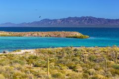 Mexican coast Royalty Free Stock Image