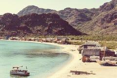 Mexican coast Stock Image
