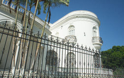 Mexican Colonial Mansion Stock Photo