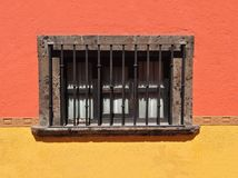 Mexican Colonial style window Royalty Free Stock Images