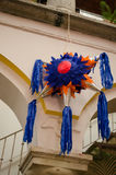 Mexican colorful piñata Stock Images