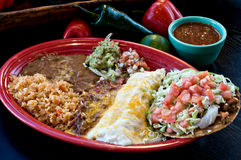 MExican Combination Dinner Royalty Free Stock Images