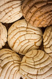 Mexican Conchas sweet bread Stock Image