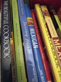 Mexican Cookbooks  Royalty Free Stock Image