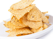 Mexican corn chips Royalty Free Stock Photography