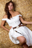 Mexican Country Girl Stock Photo