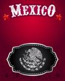 Mexican cowboy belt buckle vector design Stock Photos
