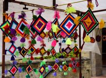 Free Mexican Crafts Stock Image - 96168631