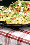 Mexican crunchy tostadas Stock Images