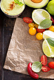 Mexican cuisine ingredients Stock Images