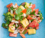 Mexican cuisine: Pico de Gallo. Stock Images