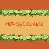 Mexican cuisine stock illustration