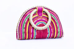 Mexican cultural bag. On white background Royalty Free Stock Photography