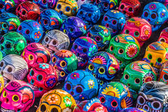 Day of the Dead Skulls Royalty Free Stock Photo