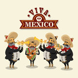 Mexican culture design Stock Photo