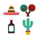 Mexican culture design. Vector illustration eps10 graphic Stock Image