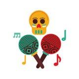 Mexican culture design Stock Image