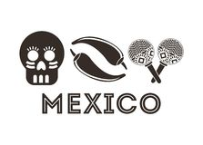 Mexican culture design Stock Photos
