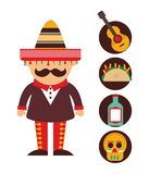 Mexican culture design. Vector illustration eps10 graphic Stock Photography