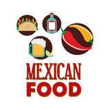 Mexican culture design Stock Images