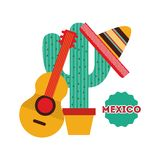 Mexican culture design. Vector illustration eps10 graphic Stock Photos