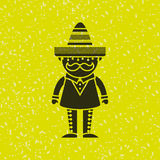 Mexican culture icon design. Illustration eps10 graphic Stock Images