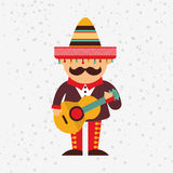 Mexican culture icon design. Illustration eps10 graphic Stock Photos