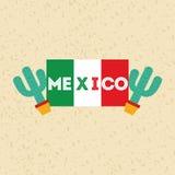 Mexican culture icon design Stock Photo
