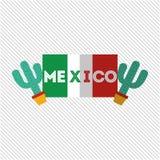 Mexican culture icon design Royalty Free Stock Photos