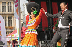 Mexican dance Royalty Free Stock Photo