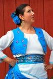 Mexican dancer Royalty Free Stock Photos