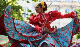 Mexican dancer Stock Image