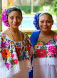 Mexican dancers portrait Royalty Free Stock Image