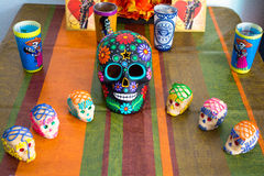 Mexican Day of the Dead Stock Photography