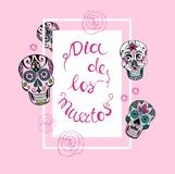 Mexican Day of the dead . Stock Photography