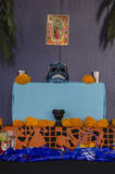 Mexican day of the dead offering altar Royalty Free Stock Photography