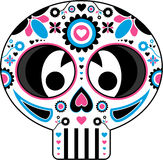 Mexican Day of the Dead Skull Stock Photo
