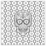 Mexican Day Of The Dead Skull. Royalty Free Stock Photos