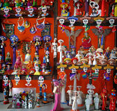 Mexican day of death crafts Stock Photo