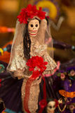 Mexican death bride.jpg Royalty Free Stock Photo