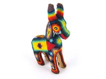 Mexican Decoration Isolated. Mexican Mule/Donkey Decoration Isolated Stock Images