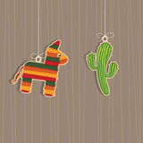 Mexican decorations Royalty Free Stock Photography