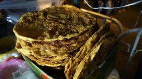 Mexican dessert called bunuelo Royalty Free Stock Photos