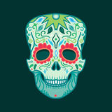 Mexican Detailed Skull Royalty Free Stock Images