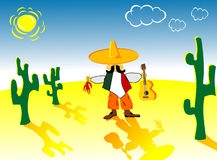 Mexican di divertimento Immagine Stock Libera da Diritti