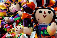 Mexican doll María royalty free stock image