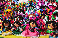 Mexican Dolls Royalty Free Stock Photography