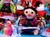 Mexican Dolls Royalty Free Stock Images